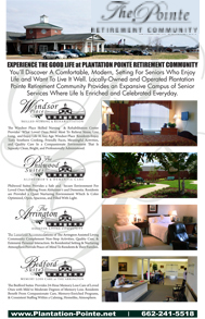 Discover the Good Life at Plantation Pointe Retirement Community